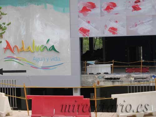 Pabellón de Andalucía, agua y vida