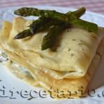 Crêpe francesa con shiitake {Cocinas del Mundo}