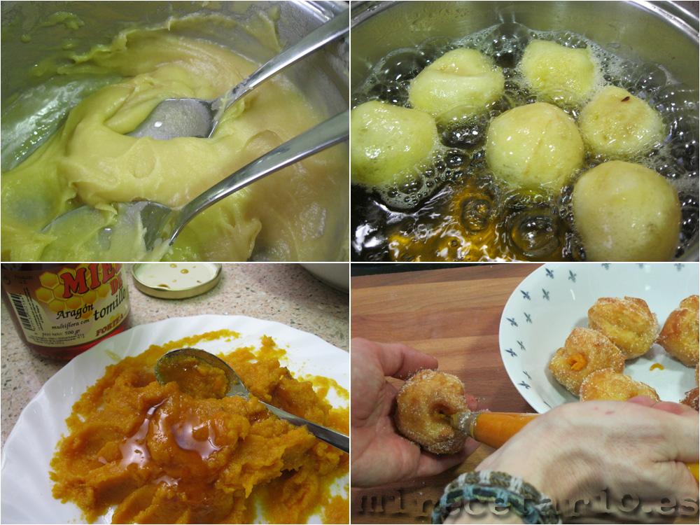 Cómo hacer buñuelos