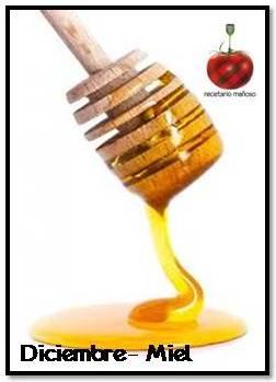 Recetario Mañoso de diciembre: miel