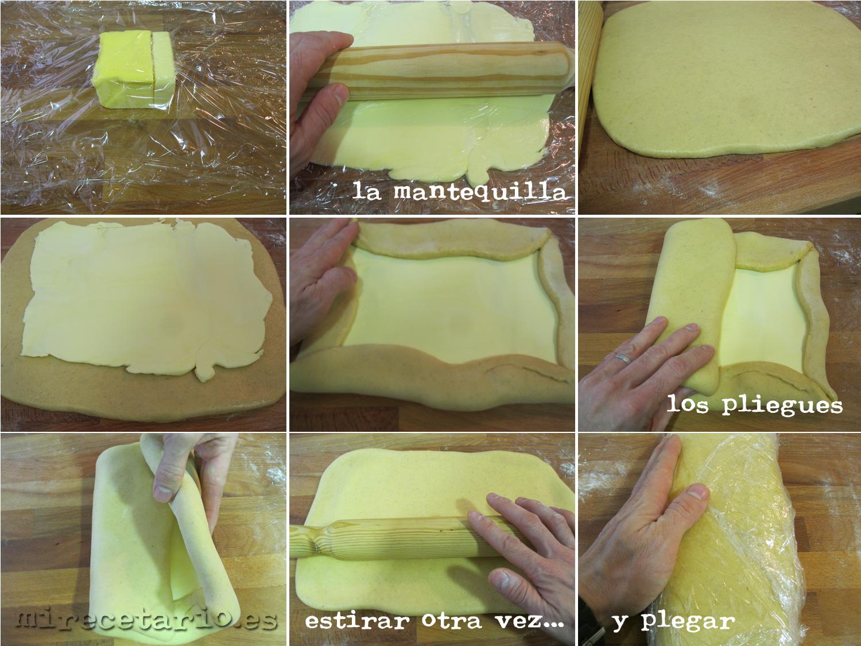 La mantequilla y el hojaldrado