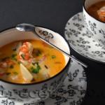 Seafood Chowder {Cocinas del Mundo}